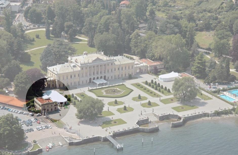 Casino sud Villa Olmo progetto di restauro