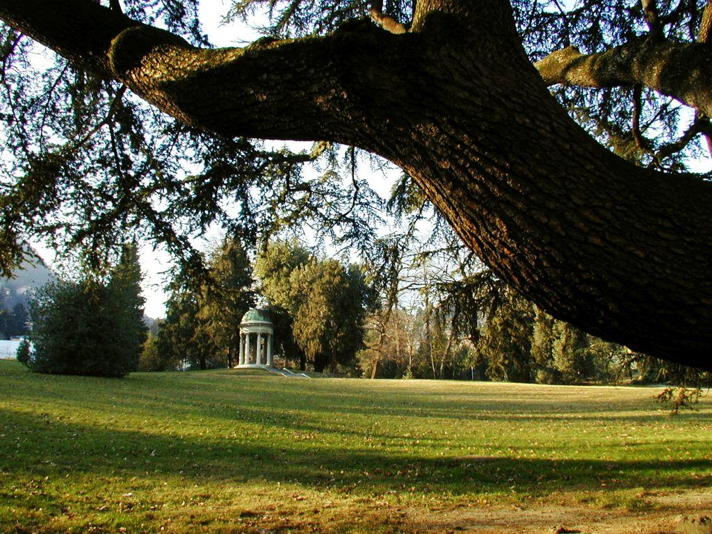 Villa Olmo a Como, il parco storico