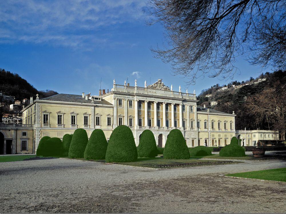 Villa Olmo e il suo parco a Como
