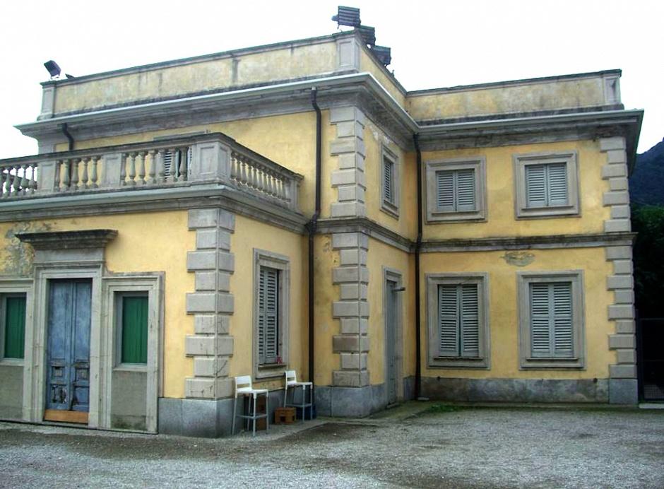 Casino Sud prima del restauro Villa Olmo Como