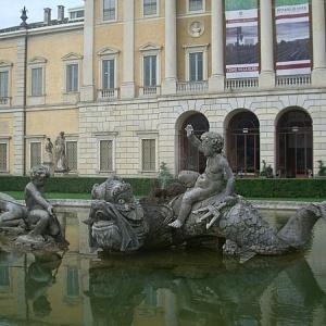 La fontana di Villa Olmo prima del restauro