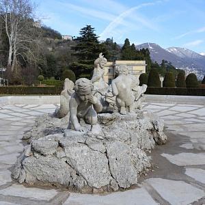 La fontana di Villa Olmo