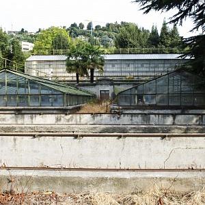 Cantieri Villa Olmo Como, Le Serre di Villa Olmo prima della riqualificazione
