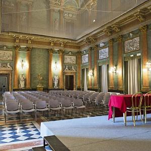 Cantieri Villa Olmo Como, interno del primo e del secondo piano