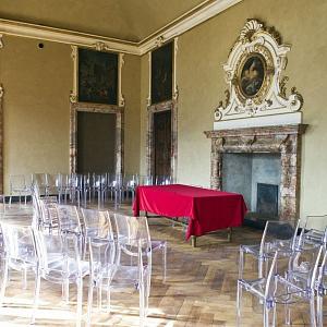 Cantieri Villa Olmo COMO Restauro sala del Duca