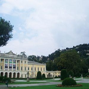 Cantieri Villa Olmo Como, il Parterre di Villa Olmo prima della riqualificazione